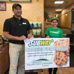 Subway Fundraiser