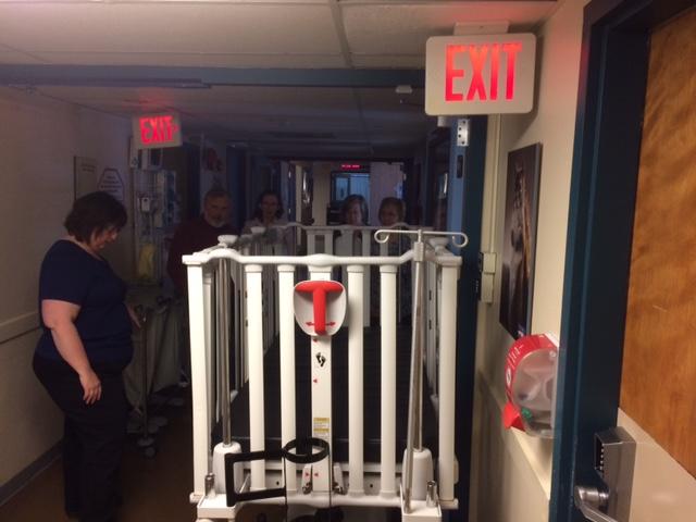 Tour - 3rd Floor Pediatric Stretcher