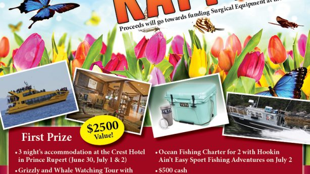 BVHCHF Spring Raffle Poster